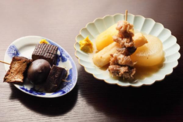和風だしと味噌の2種類が楽しめます