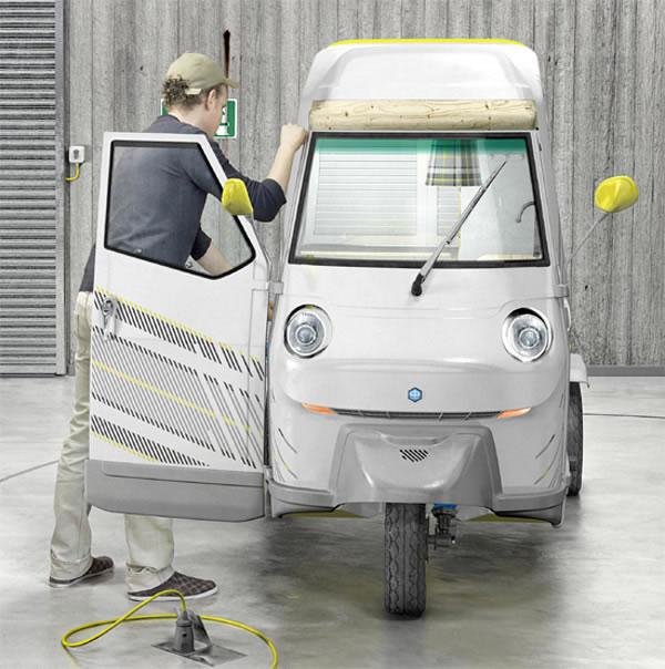 お一人様専用キャンピングカー「Bufalino」