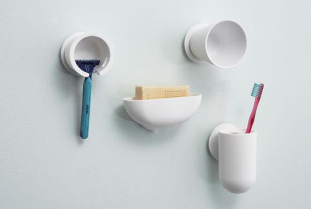 風呂場をオシャレかつ衛生的に整頓。壁面収納「mog」が良さげ!