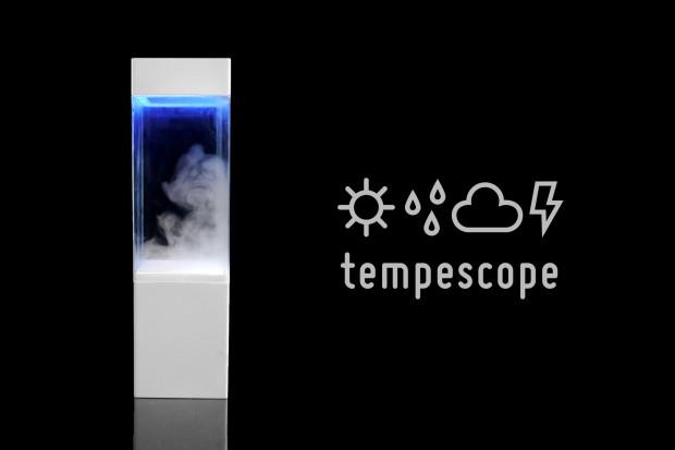 その日の天気を切り取り部屋に飾る新発想。tempescopeが欲しい!