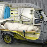 一人様専用キャンピングカー「Bufalino」