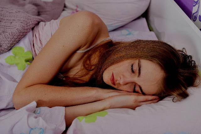 寝てる間に酸素を放出